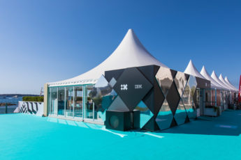 Cabana IBM at Cannes LIONS for GEORGE P.JOHNSON