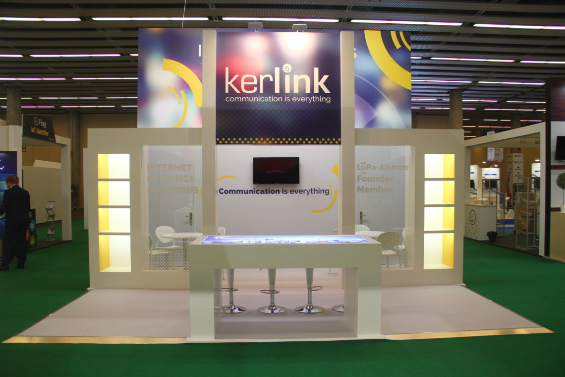 Mobile World Congress 2017 Tradeshow Kerlink 1