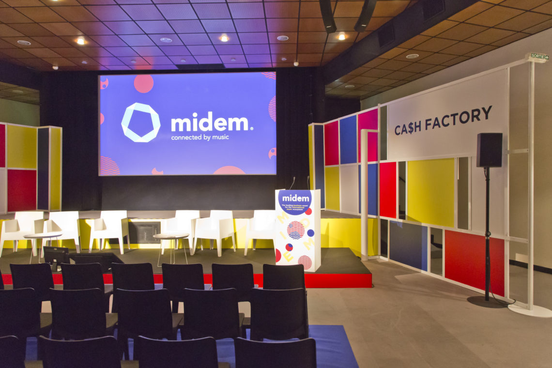 Cash Factory 11 Decomakers@ Midem 2017