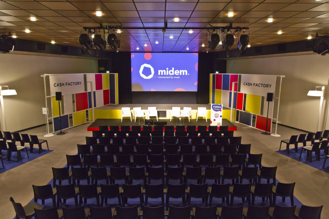 Cash Factory 9 Decomakers@ Midem 2017