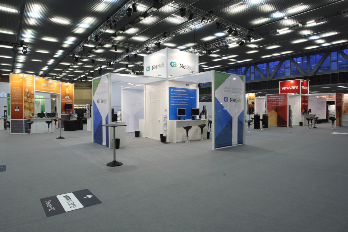 General Installations for Exhibitions - Gpj Cisco Congress Barcelona3