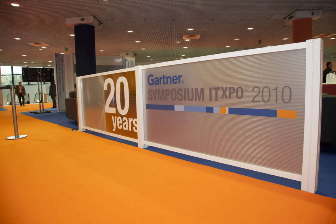 General Installations for Exhibitions - George P  Johnson Gartner Congress081