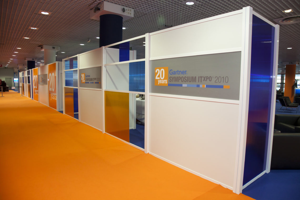 General Installations for Exhibitions - George P  Johnson Gartner Congress082