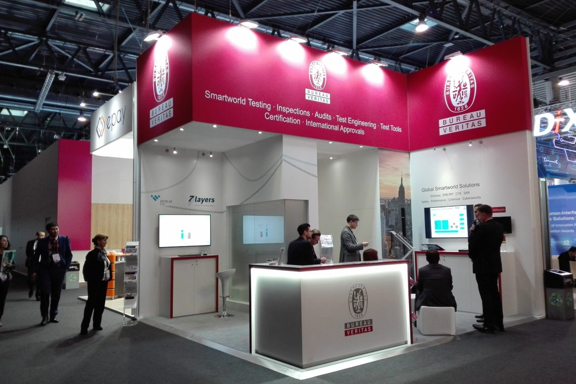 Mobile World Congress 2017 Tradeshow Veritas 3