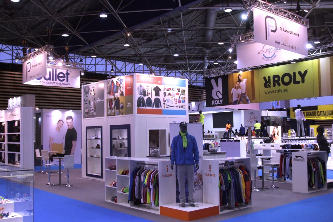 pf concept stand at ctco trade show decomakers. Black Bedroom Furniture Sets. Home Design Ideas